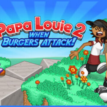 play free game papa louie 2 when burgers attack