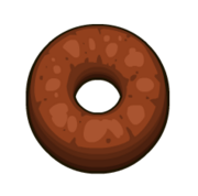 Papa's Donuteria - Chocolate Ring.png
