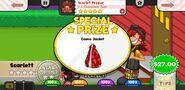 Papa's Wingeria To Go! Scarlet Pepper Prize