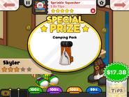 Sprinkle Squasher Special Prize