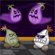 Halloween Onions by obedart2015