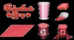 Sushiria To Go Valentine's Day Ingredients