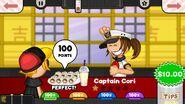Captain Cori Sushiria To Go!