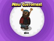 Rico's striped shirt