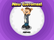 James in Papa's Pastaria