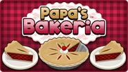 Papa's Bakeria icon on the homeopage