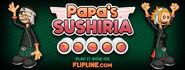 Papa's Sushiria Post on Facebook