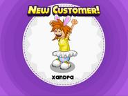 Xandra at easter