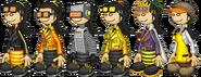 PLP Akari Outfits