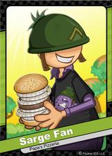 Sarge Fan Flipdeck