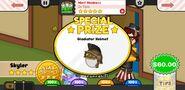 Papa's Scooperia To Go! Mint Madness Prize