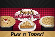Play it today! Papa's Bakeria