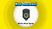 Witch's Brew Syrup (Mocharia To Go!)