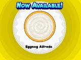 Eggnog Alfredo