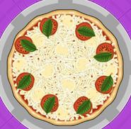 A Pizza Margherita