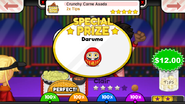 Special Prize - Crunchy Carne Asada (TG)