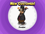 Unlocking Foodini H