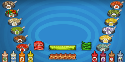 Papa's Hot Doggeria HD - Sauces and Toppings.png
