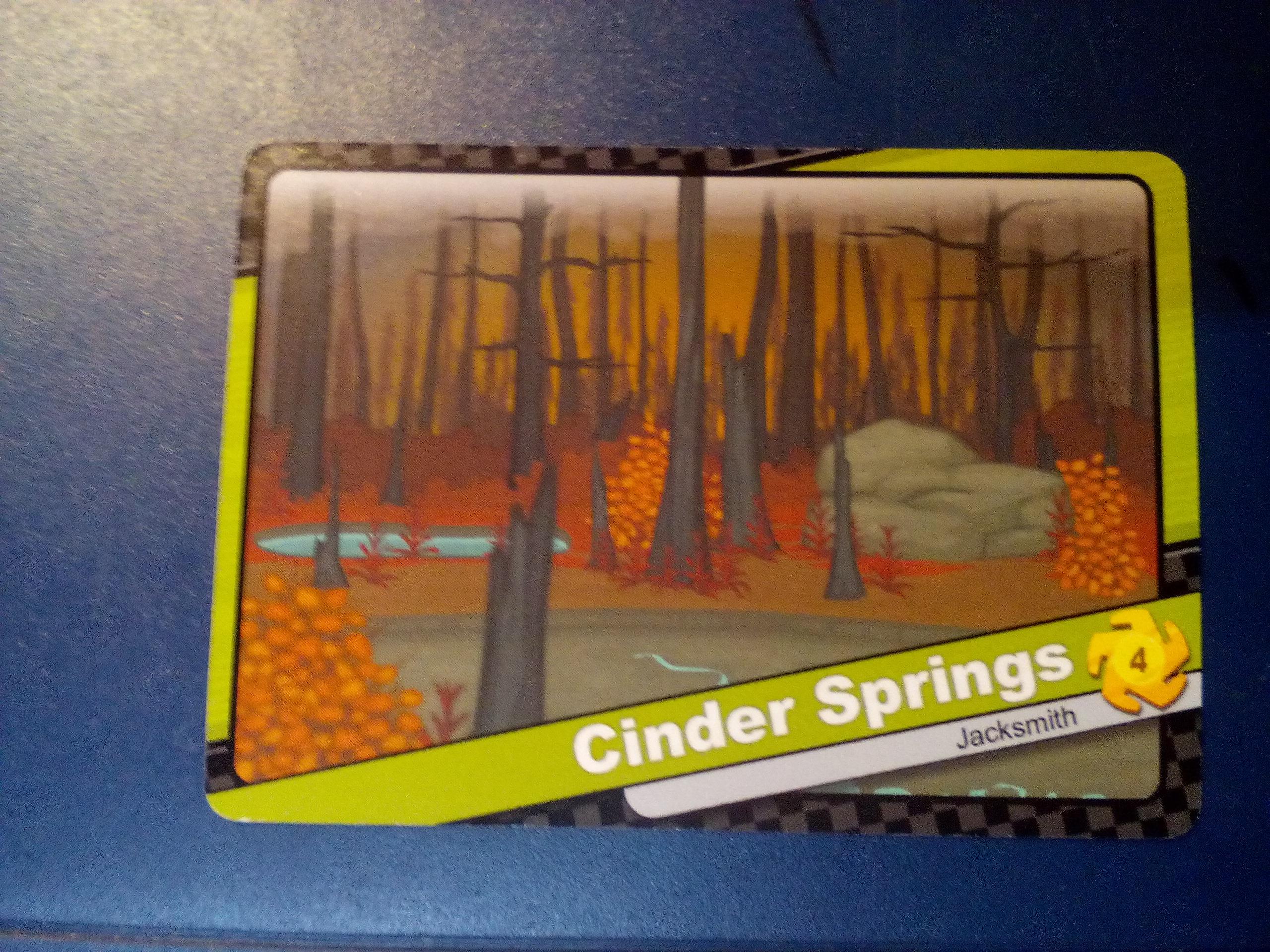 Cinder Springs