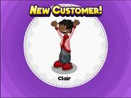 You unlocked Clair! (Bakeria)