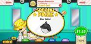 Papa's Pancakeria To Go! Banana Cream Pie Prize