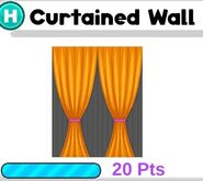 Curtained Wall
