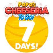 Cheeseria To Go - 7 Days Left