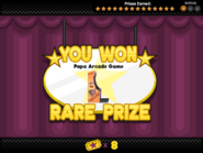 Papa's Bakeria - Slider Escape - Prize 14 (Bronze)