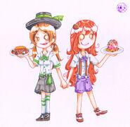 Utah and Koilee by momoko sara hoshino