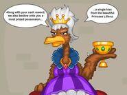 Queen hildread in finale