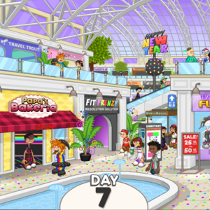 Papa'sBakeria - Whiskview Mall durante Año Nuevo.png