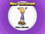 Pinch Hitwell unlocked in Papa's Donuteria