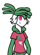 Radlynn as a radish by rickathecooperfan-daozun0