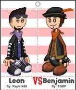 Leon vs Benjamin