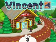 Vincent outside