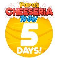 Cheeseria To Go - 5 Days Left