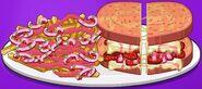 Valentines Day Sandwich To Go