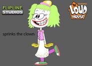 Flipline studios sprinks the clown the loud house