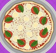 Pizza Margherita (Light Bake)