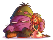 Koilee and Sarge by PeppermintLeaf