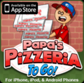 Papa's Pizzeria To Go! Promotional Icon