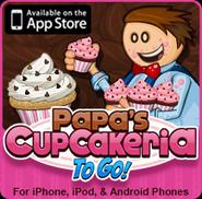 Papa's Cupcakeria To Go! Small Logo