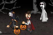 Happy Halloween DVloper to Slendrina for Willow and Allan