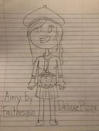 Amy Drawing by DeluxePizza