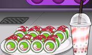 Christmas Sushi To Go