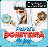 Papa's Donuteria To Go! Web Promo