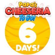 Cheeseria To Go - 6 Days Left