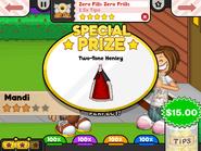Zero Fills Zero Frills- Special Prize