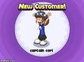 Captain Cori unlocked in Papa's Cupcakeria