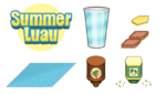 Sushiria To Go Summer Luau Ingredients